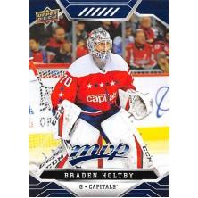 Holtby Braden - 2019-20 MVP Factory Set Blue No.89