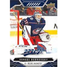 Bobrovsky Sergei - 2019-20 MVP Factory Set Blue No.96