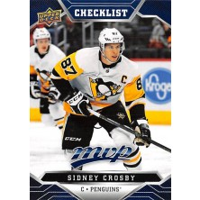 Crosby Sidney - 2019-20 MVP Factory Set Blue No.200