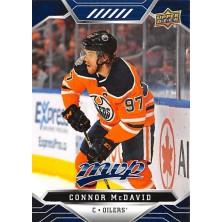 McDavid Connor - 2019-20 MVP Factory Set Blue No.209