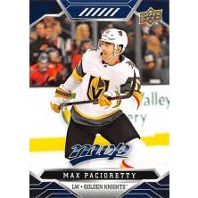 Pacioretty Max - 2019-20 MVP Factory Set Blue No.211