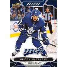 Matthews Auston - 2019-20 MVP Factory Set Blue No.217