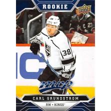 Grundstrom Carl - 2019-20 MVP Factory Set Blue No.221