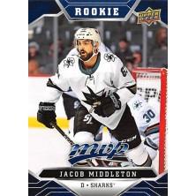 Middleton Jacob - 2019-20 MVP Factory Set Blue No.225