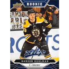 Kuhlman Karson - 2019-20 MVP Factory Set Blue No.229