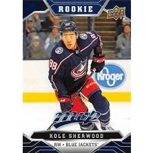 Sherwood Kole - 2019-20 MVP Factory Set Blue No.232