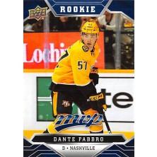 Fabbro Dante - 2019-20 MVP Factory Set Blue No.237