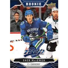 MacEwen Zack - 2019-20 MVP Factory Set Blue No.246