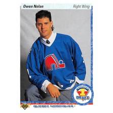 Nolan Owen - 1990-91 Upper Deck No.352