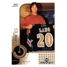 Lang Robert - 2002-03 MVP Gold No.187