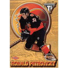 Petrovický Ronald - 2000-01 Titanium Draft Day Edition No.154