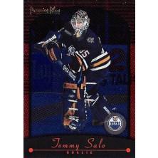 Salo Tommy - 2000-01 Premier Plus Blue Ice No.77