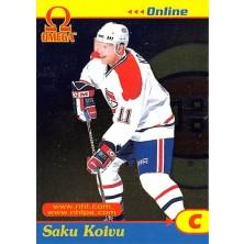 Koivu Saku - 1998-99 Omega Online No.18
