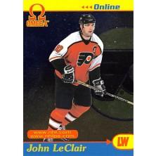LeClair John - 1998-99 Omega Online No.25
