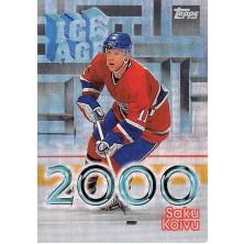 Koivu Saku - 1998-99 Topps Ice Age 2000 No.I9