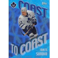 Sundin Mats - 2002-03 Topps Coast to Coast No.CC4