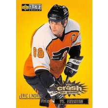 Lindros Eric - 1997-98 Collectors Choice Crash the Game vs. Anaheim No.C20