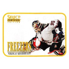 Khabibulin Nikolai - 1996-97 Select Certified Freezers No.14