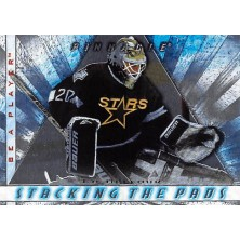 Belfour Ed - 1997-98 Be A Player Stacking the Pads No.5