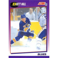 Hull Brett - 1991-92 Score American No.1