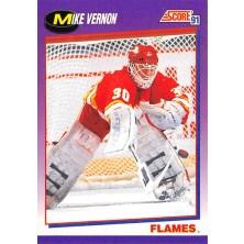 Vernon Mike - 1991-92 Score American No.80
