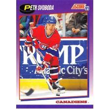 Svoboda Petr - 1991-92 Score American No.95