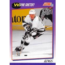 Gretzky Wayne - 1991-92 Score American No.100