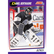 Berthiaume Daniel - 1991-92 Score American No.132