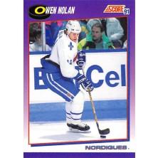 Nolan Owen - 1991-92 Score American No.143