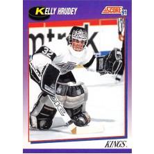 Hrudey Kelly - 1991-92 Score American No.231