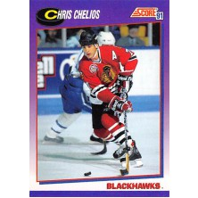 Chelios Chris - 1991-92 Score American No.235