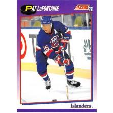 LaFontaine Pat - 1991-92 Score American No.260