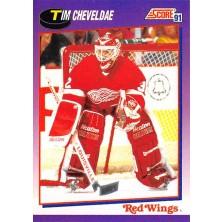 Cheveldae Tim - 1991-92 Score American No.272