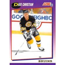 Christian Dave - 1991-92 Score American No.292