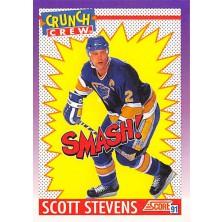 Stevens Scott - 1991-92 Score American No.303