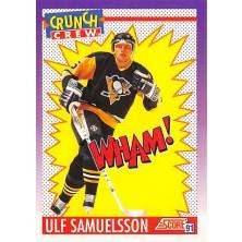 Samuelsson Ulf - 1991-92 Score American No.304