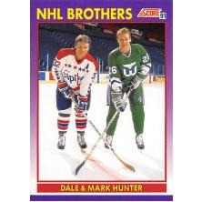 Hunter Dale, Hunter Mark - 1991-92 Score American No.306