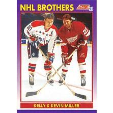 Miller Kelly, Miller Kevin - 1991-92 Score American No.309