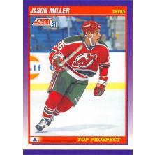 Miller Jason - 1991-92 Score American No.312