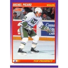 Picard Michel - 1991-92 Score American No.317