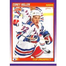Millen Corey - 1991-92 Score American No.318