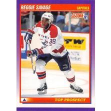 Savage Reggie - 1991-92 Score American No.320