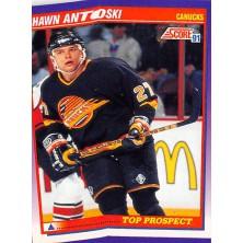 Antoski Shawn - 1991-92 Score American No.323