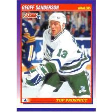 Sanderson Geoff - 1991-92 Score American No.324