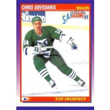 Govedaris Chris - 1991-92 Score American No.325