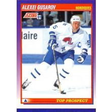 Gusarov Alexei - 1991-92 Score American No.326