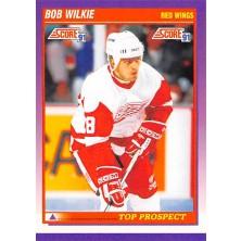 Wilkie Bob - 1991-92 Score American No.328