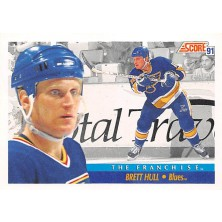 Hull Brett - 1991-92 Score American No.337