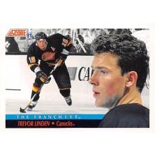 Linden Trevor - 1991-92 Score American No.339
