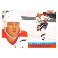 Hatcher Kevin - 1991-92 Score American No.340